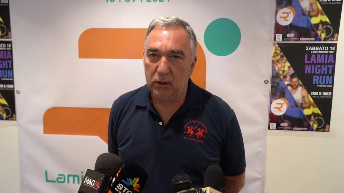 LamiaReport.gr: Ο Δήμαρχος Λαμιέων επισκέφθηκε τα γραφεία του Lamia Night Run