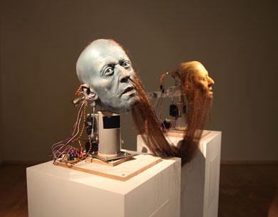 Nathaniel Mellors, Hippy Dialectics (2010), animatronic sculpture