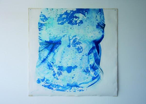Kate Smith, Work in Progress, 2011. Pastel on paper, 152 x 152 cm.