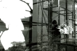 Mike Nelson, double exposed photograph, 1995/1998. Image courtesy the artist.