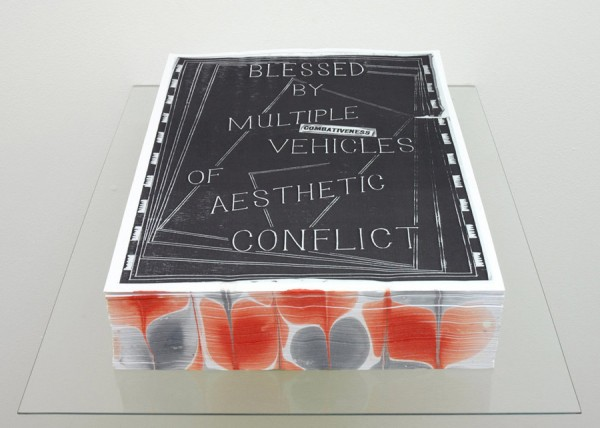 David Osbaldeston, Combativeness (Ode to Blast), 2008-10