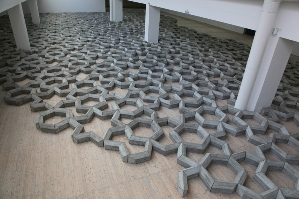 Mike Nelson, 408 tons of imperfect geometry, 2012. Installation view at Malmö Konsthall.