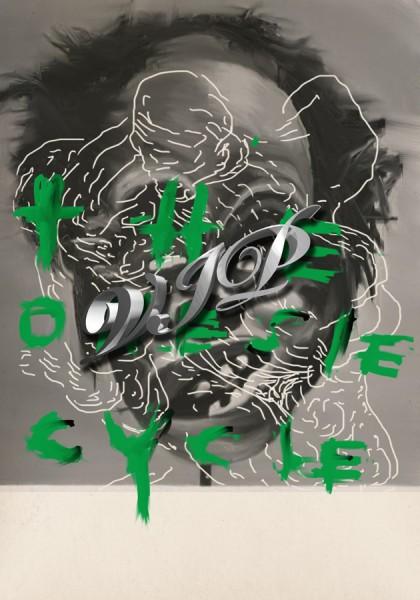 Benedict Drew, The Onesie Cycle (VIP) Poster, 2013.