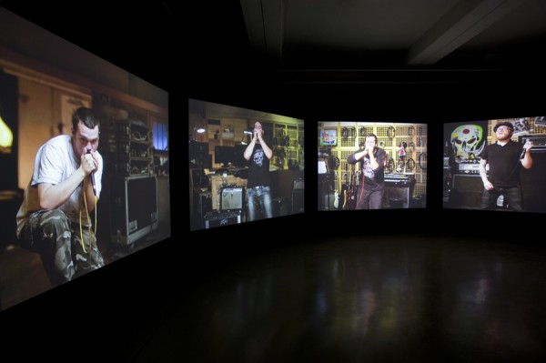 Matt Stokes, Cantata Profana, 2010. Installation view. Photo by Nils Klinger.