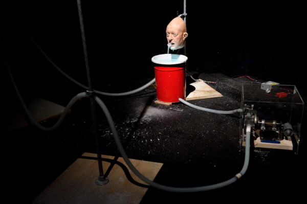 Nathaniel Mellors, The Object (Ourhouse), 2010. Photo Simon Keitch. Courtesy Hayward Touring.