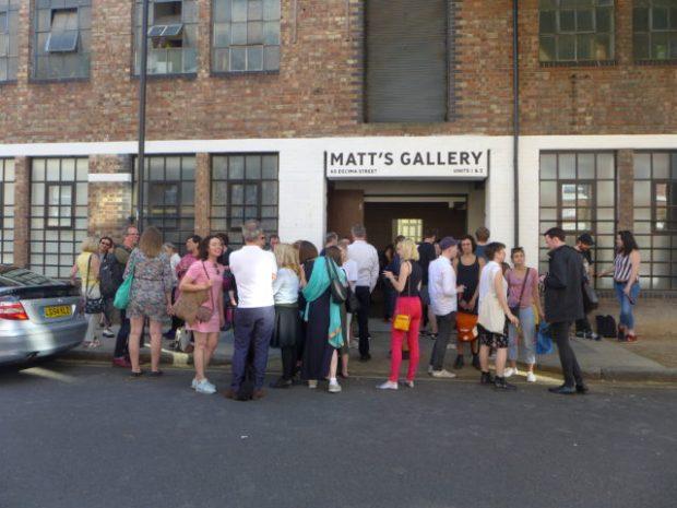 Matt's Gallery, 2017