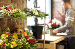 All the bouquets were curated, designed, packed in its warehouse on west Hubbard street. (Jin Wu/Medill)
