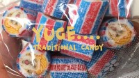 Trump candy anyone? Traditional hand-made cylindrical candies can be found everywhere in the country with various cute designs. This year, a Japanese company released a timely version of U.S. President Donald Trump. (Shen Lu/MEDILL)