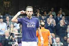 Mohamed ElShorbagy ran through the men's draw without losing a single game. (Annanya/MEDILL)