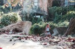 Little girl walking in Marianao. (Giulia Petroni/MEDILL)