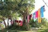 Clothes hung to dry, Marianao. (Giulia Petroni/MEDILL)