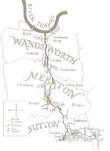 Course of the River Wandle