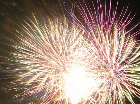 Fireworks in Merton