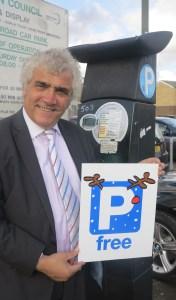 Free parking in Merton