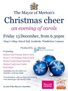 Mayor of Merton's Christmas cheer carol concert