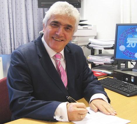 Leader of Merton Council, Councillor Stephen Alambritis