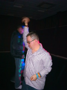 People at All Saints Centre enjoyed a night of dancing and socialising at the Funky Feet nightclub event