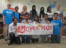 Summer Reading Volunteers last week at the Morden Library