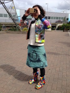 Rosa in Style Junkies Costume