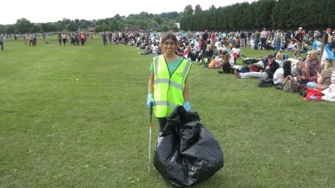 Agency litter picker Keenal Majithia, 20,.JPG