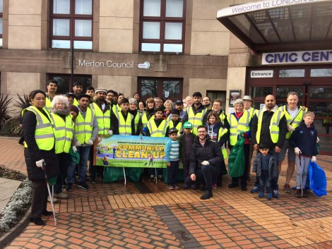 Merton Big Spring Clean 2017