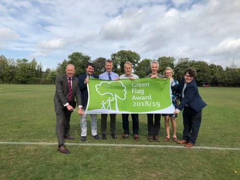 Green Flag 2018 - Abbey Recreation Group