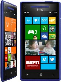 The Windows Phone 8X has a 4.3-inch screen, a 1.5GHz processor, and an 8MP camera. The camera also has an ultra-wide angle lens, good for fitting everyone into group shots, using Skype, and more.