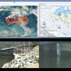 CoastalCOMS environmental monitoring integrated with Milestone video