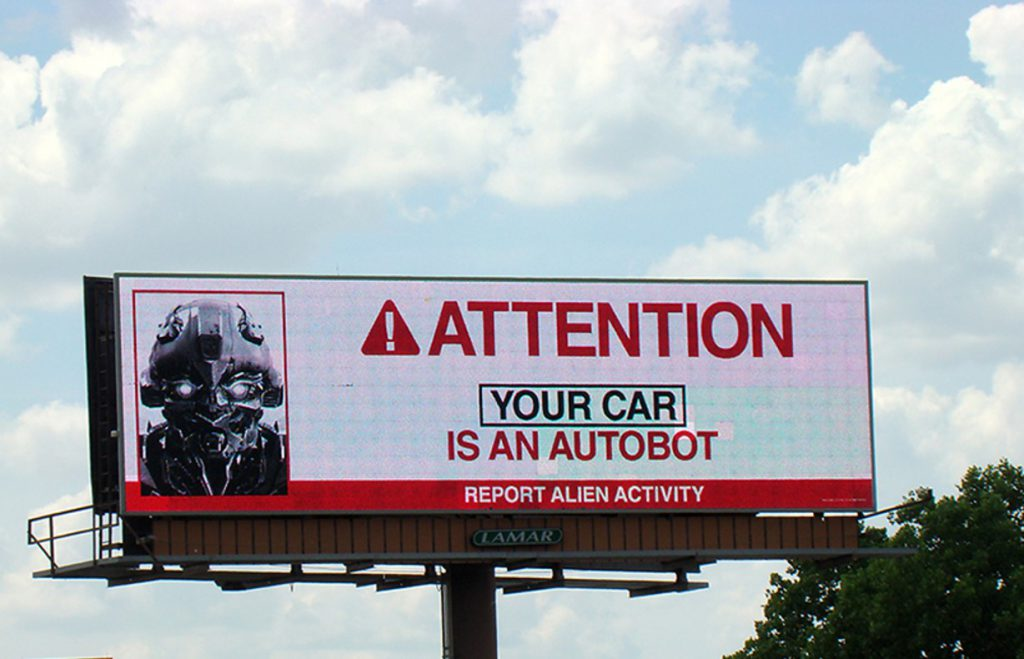Attention! Your Car is an Autobot!!