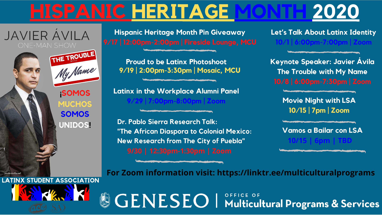 Geneseo Celebrates National Hispanic Heritage Month