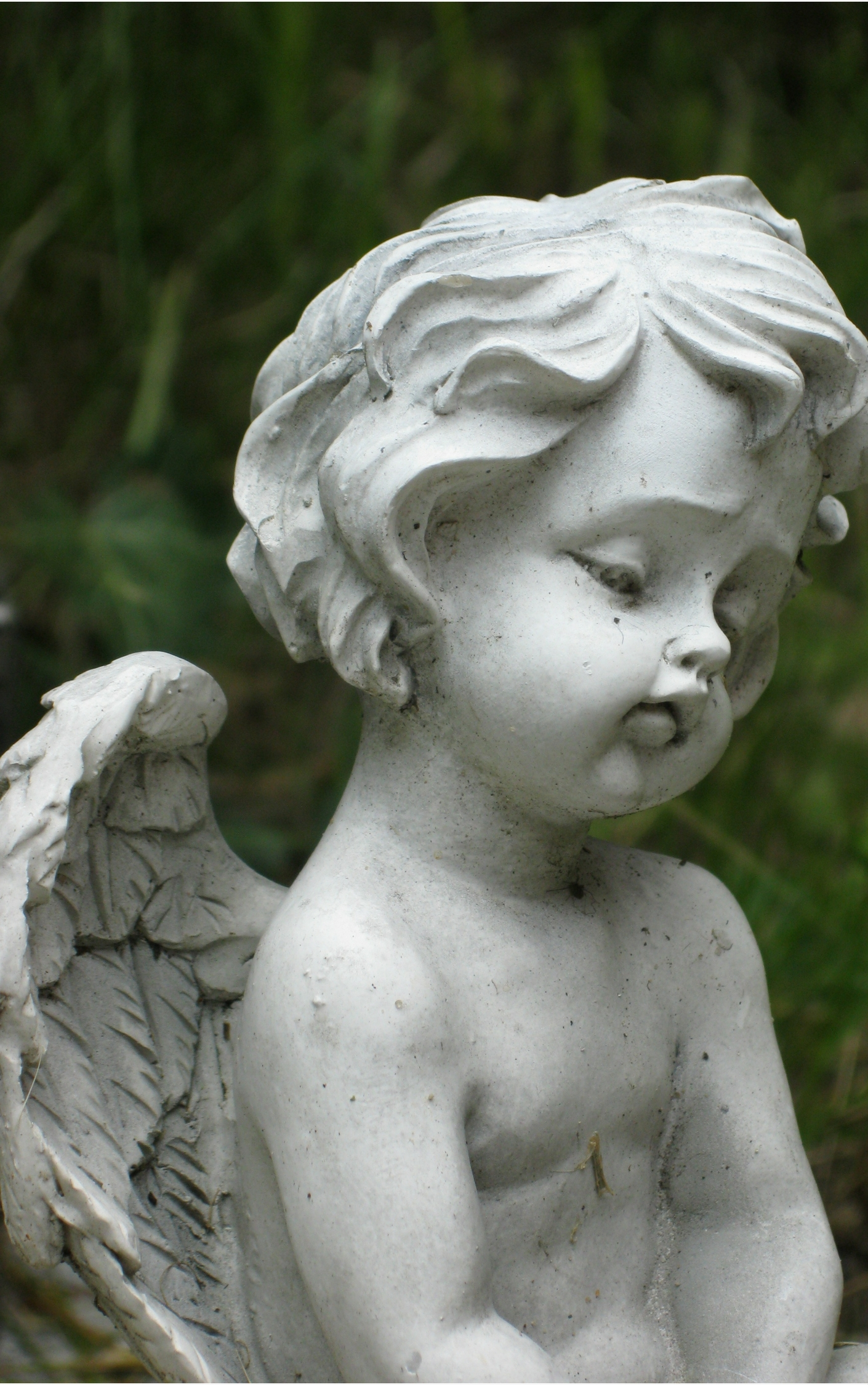 funeral angel grave