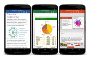 Microsoft Office apps for Android Phones are live!