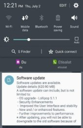Samsung Galaxy S6 Duos receives Android 5.1.1 update