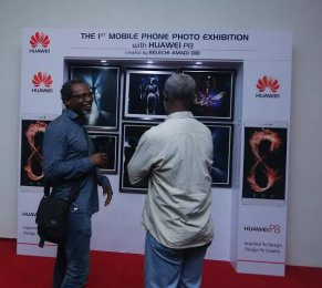Huawei P8 steals the show at Lagos photo festival