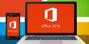 The Office 2016 works on laptops,desktops and smartphones