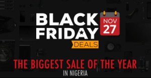 Jumia Black Friday Sale, offers over 90% discount, Free Delivery Nationwide