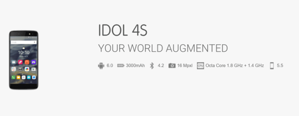 Alcatel OneTouch Idol 4 and 4S leak_complete specs revealed Image 1 Naija Tech Guide