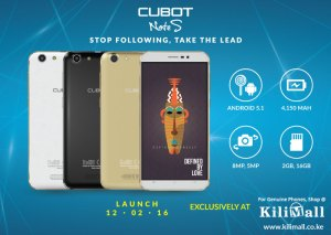 Cubot Note S with 4150mAh battery launched in Kenya