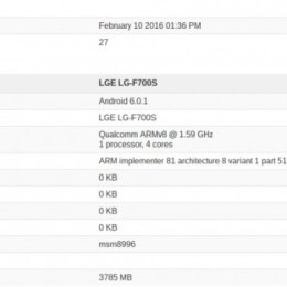 LG G5 visits Geekbench packing Snapdragon 820 and 4GB of RAM