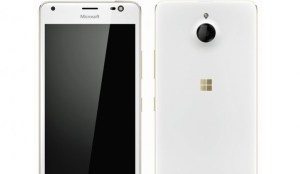 Microsoft Lumia 850 with 5.4-inch display, Iris scanner surfaces in live images