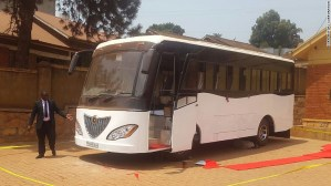 First 'Made in Africa' solar bus unveiled in Uganda