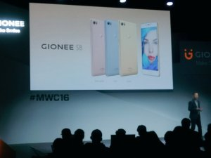 Gionee S8 launches with 3D Touch Display, 16 MP Camera