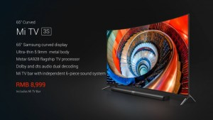 Xiaomi Mi TV 3S Curve, Flat FHD variant Android TV launched