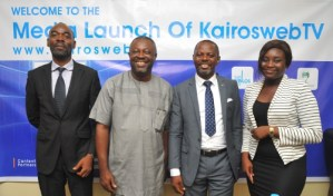 KairosWebTV launches with Data saving Streaming in Nigeria