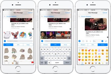 Bug disrupts messaging on iPhone version of Facebook Messenger, fix in the works