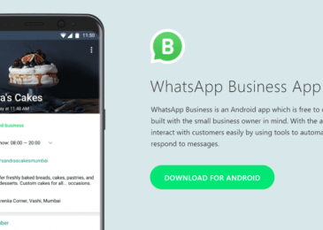 whatsapp for business