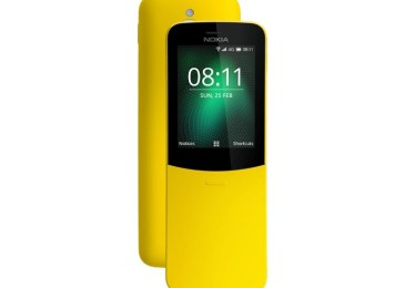 HMD brings back the banana phone, launches a Nokia 8810 4G