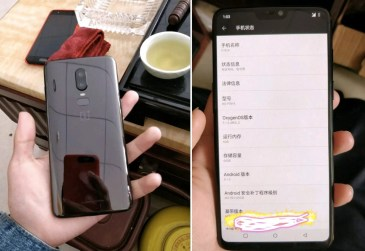 Images of the OnePlus 6 Hit the Net. See Photos