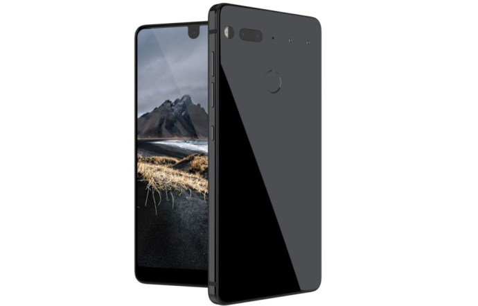 Essential Phone headphone jack