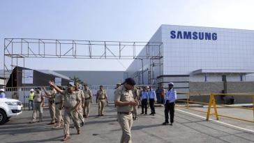 Samsung launches the World's Largest Smartphone Manufacturing Plant in India